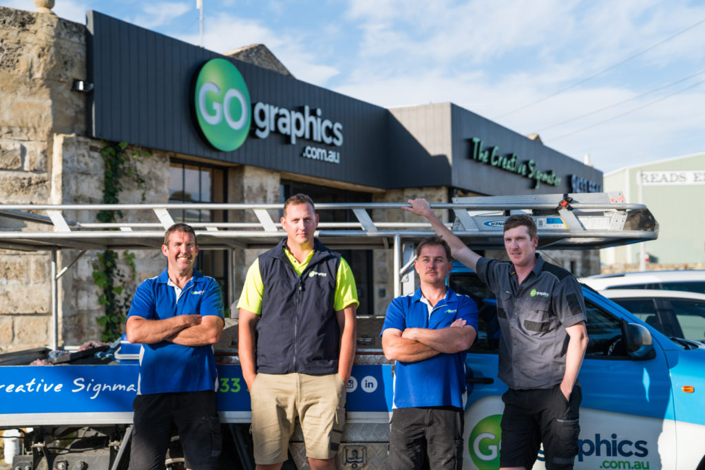 Go Graphics Installation Team